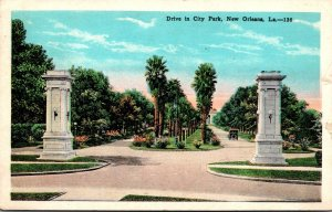 Louisiana New Orleans Drive In City Park