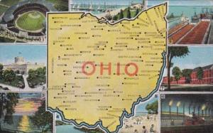 Multi Views With Map Of Ohio