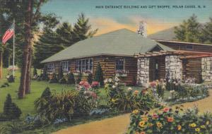Main Entrance Building and Gift Shoppe, Polar Caves, New Hampshire, 30-40s