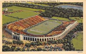 Football Stadium Post Card Palmer Stadium, Princeton University Princeton, Ne...
