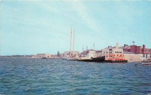 Cape Cod Massachusetts~Woods Hole Oceanographic Institute~Ships At Dock~1960s