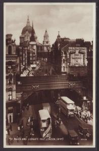 St Paul's,Ludgate Hill,London,England,UK Postcard