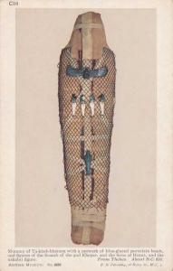 Mummy of Ta-kheb-khenem - From Thebes, Egypt circa 600 BC