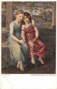 Austrian Fine Art, Gottlieb Schick, Adelheid und Gabriele von Humboldt