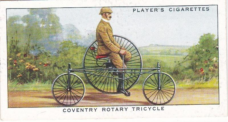 Cigarette Cards Players CYCLING No 6 Coventry Rotary Tricycle