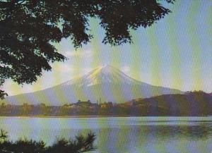 Mount Fuji From Lake Kawaguchi Japan