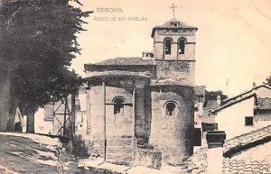 Abside de San Nicolas Segovia Spain Unused