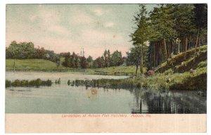 Auburn, Me, Landscape of Auburn Fish Hatchery