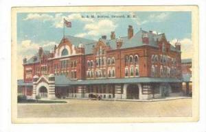 B&M Railroad Station, Concord, New Hampshire, PU-1910