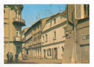 Busy Street Scene and City,Piotrkow Trybunalski,Poland 1960-70s