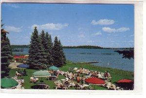 Lounging Lawn at Breezy Point Resort, Brainerd, Minnesota !