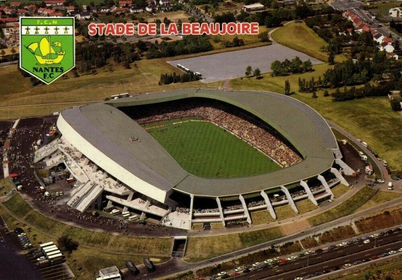 france, NANTES, Stade de la Beaujoire (1970s) Stadium Postcard