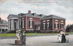 1907 Maryland State Building, Jamestown Exposition Unused Postcard