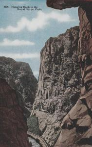 Hanging Rock in Royal Gorge CO, Colorado - DB