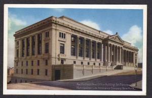 CA Office Bldg Metropolitan Life Insurance Co San Francisco California Postcard