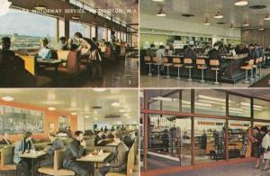 Granada Motorway Services Cafe Toddington Beds 1960s Postcard