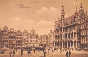 Bruxelles Belgium, Belgique, Belgie, Belgien La Grand Place Bruxelles La Gran...