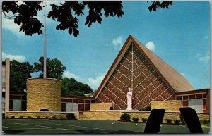 Madison, Tennessee Postcard ST. JOSEPH'S CHURCH Building / Street View c1960s