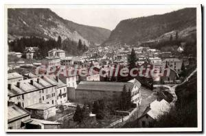Old Postcard Morez The Road From Longchaumois