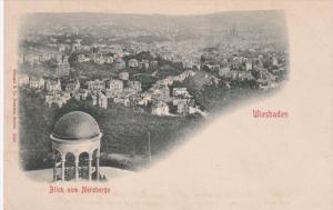 WIESBADEN , Germany 1890s ; Blick vom Neroberge