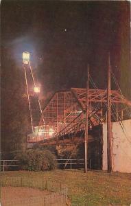 Johnstown Pennsylvania~Inclined Plane Platform~Night Lights Going Up~1950s