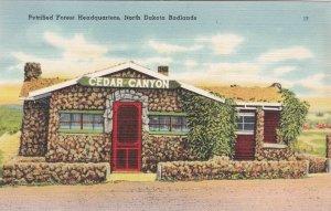 North Dakota Badlands Petrified Forest Headquarters sk7491