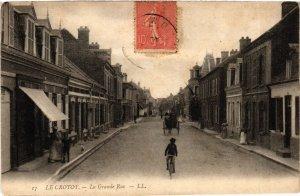 CPA LE CROTOY La Grande Rue (868971)