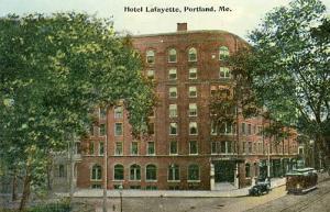 ME   - Portland. Hotel Lafayette