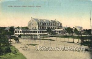 Hotel Belmont West Harwich MA 1913
