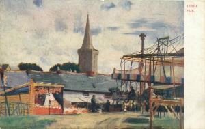 Tenby Fair postcard