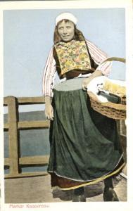 Dutch Tradeswoman - Netherlands - Native dress - WB