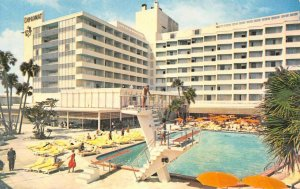 DIPLOMAT Resorts & Country Club, Hollywood-By-The-Sea, Florida ca 1960s Postcard
