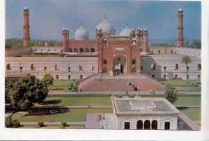 Badshahi Mosque, Lahore, Pakistan, 1984 used Postcard