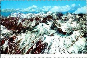 Vintage Idaho Souvenir Postcard, Sawtooth Mountains , pb24