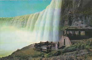 Canada Ontario Niagara Falls Plaza Below Horseshoe Falls