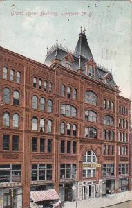 New York Syacuse Grand Opera Building 1913