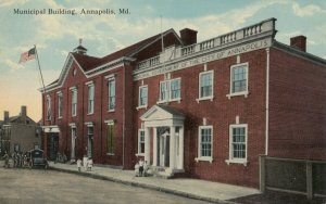 ANNAPOLIS , Maryland, 1900-10s ; Municipal Building