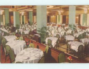 Unused Linen KUGLER'S CHESNUT SYTREET RESTAURANT Philadelphia PA s1541