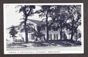 NY View Tobin's Restaurant SYRACUSE NEW YORK Postcard