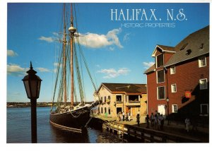 5 X 7 inch, Bluenose II, Historic Properties, Halifax  Nova Scotia