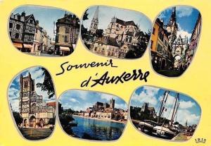 France Souvenir d'Auxerre, Vieilles Maisons, L'Eglise St-Germain, Cathedrale