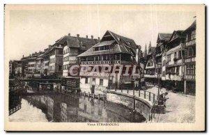 Old Postcard Old Strasbourg