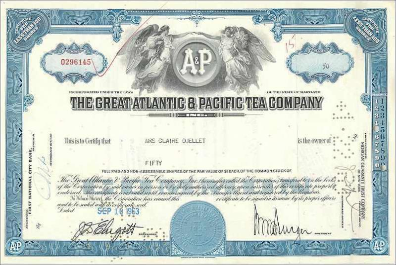 Coupon Share Action The Great Atlantic & Pacific Tea Company Ange Angel Femme