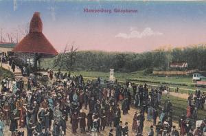 Klampenborg Galopbanen Denmark Horse Race Racing Old Postcard