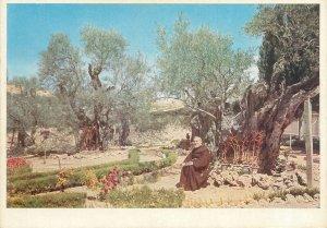 Postcard Israel Jerusalem Garden of Ghetsemani
