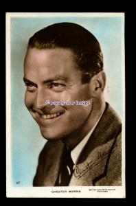 b6485 - Film Actor - Chester Morris - M.G.M.Pictures No.67 - postcard