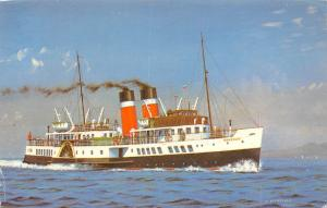 Waverley The last Sea Going paddle Steamer in the World