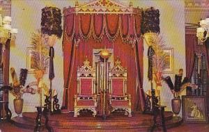 Hawaii Honolulu Throne Of Hawaii Last By Queen Liliunuoka