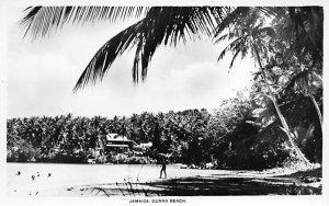 Jamaica, Jamaique Post card Old Vintage Antique Postcard Dunns Beach Unused
