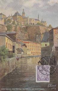 Ville-Basse Du Grund Et Ville-Haute, Luxembourg, 1900-1910s